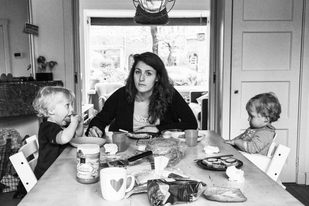 Bibi-Joan photo from art project about motherhood