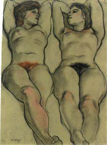 Kitaj Female Nudes