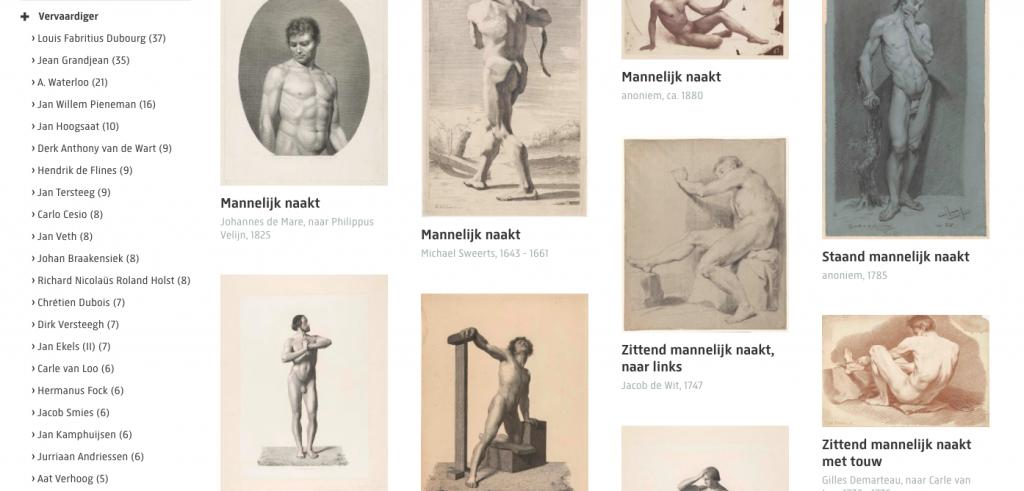 Male Nudes Rijksmuseum