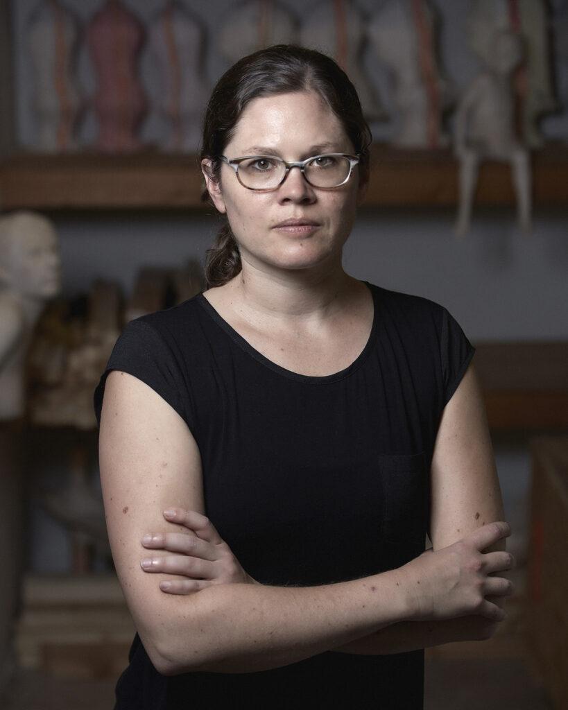 Portrait of the Artist Christina West